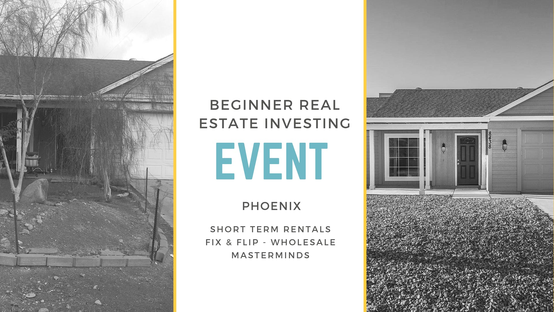 Beginner Real Estate Investor Event-Phoenix