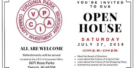 VPCIA Open House tickets