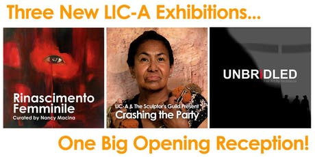 Three Exhibitions, One Big Opening! tickets