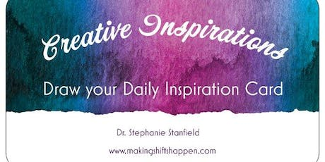 Create a Daily Inspiration Card Deck tickets