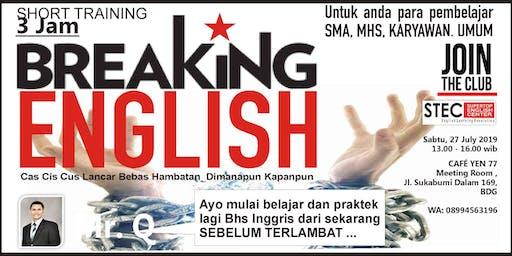 Short Training: Breaking English