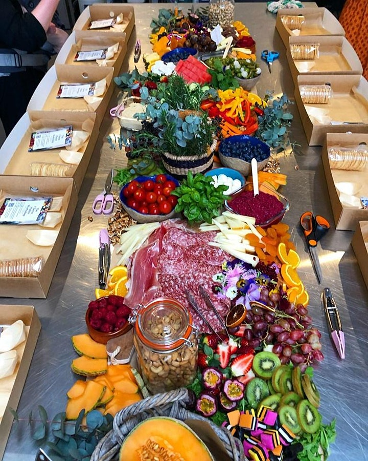 MASTER THE ART OF GRAZING PLATTERS. image