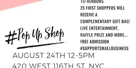 Pop Up Shop Summer Series tickets