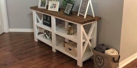 Build your own sofa table  tickets