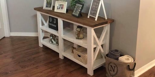 Build your own sofa table