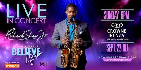 Richard Shaw Jr. LIVE In Concert - Album Release 'Believe Again' tickets