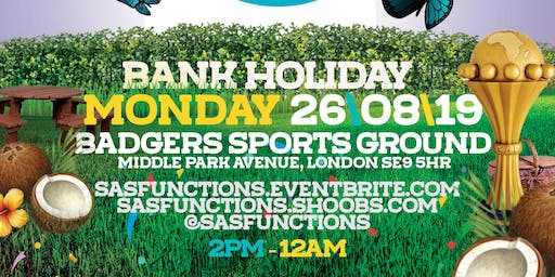 ONE CUP FIESTA BBQ PARTY - BANK HOLIDAY MONDAY 26 AUGUST