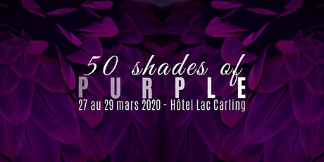 50 Shades of Purple 2020 (REPORTÉ) billets