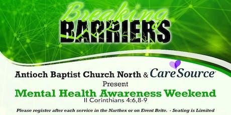 Breaking Barriers Mental Health Awareness Forum tickets