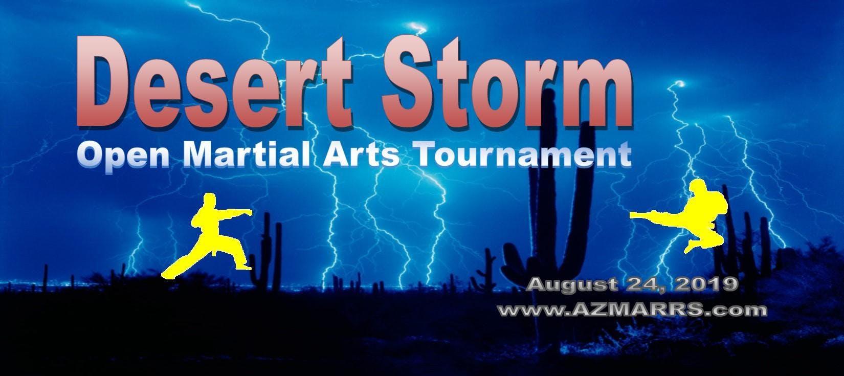 2019 Desert Storm Open Martial Arts Tournament