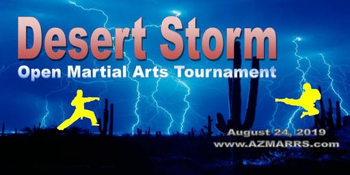 2019 Desert Storm Open Martial Arts Tournament