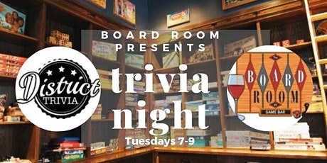 District Trivia at The Boardroom VA tickets