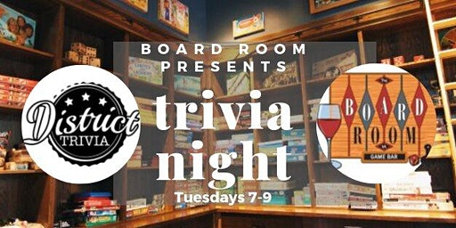District Trivia at The Boardroom VA