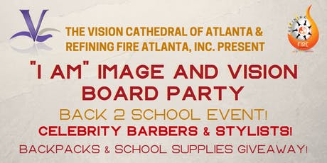 """I Am"" Image and Vision Board Back2School Party! tickets"
