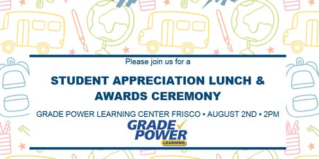 STUDENT ACADEMIC ACHIEVEMENT AWARDS & LUNCH tickets