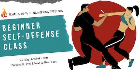FREE Beginner Self-Defense Class tickets