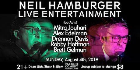 Neil Hamburger LIVE w Mitra Jouhari, Alex Edelman, Drennon Davis, & More tickets