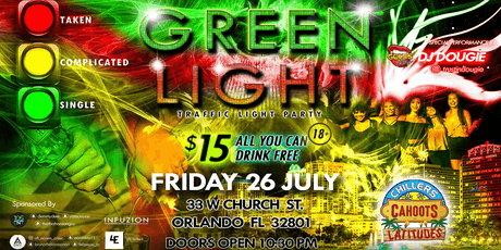 GREEN LIGHT - Traffic Light Party tickets