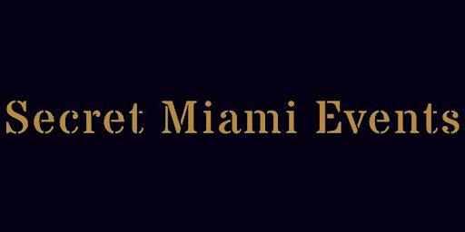 Secret Miami Events Signup - We are Miami