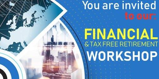 FREE Financial & Tax-Free Retirement Workshop