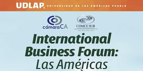 International Business Forum Las Americas entradas