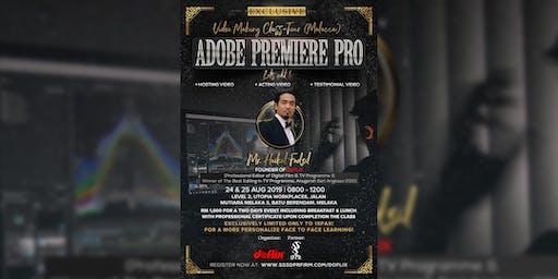 Videomaking Class Tour (Malacca) - Adobe Premiere Pro