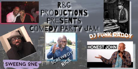 Comedy Party Jam tickets