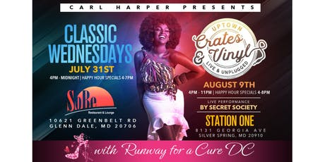 Runway For A Cure DC Happy Hour Mixer: Carl Harper Presents Crates and Vinyl with Secret Society tickets