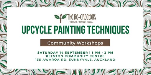 Upcycle Painting Sat 14 September