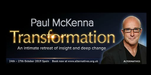 TRANSFORMATION - An intimate retreat of insight and deep change with Paul McKenna in Spain