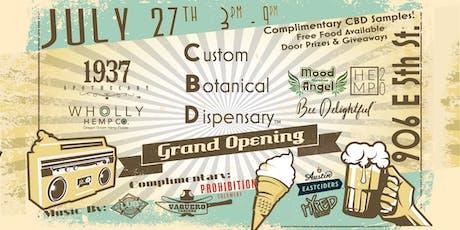 Grand Opening - CBD Hemp Cannabis Dispensary tickets
