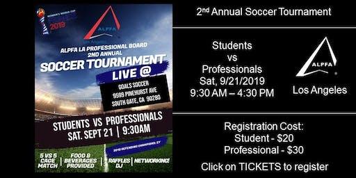2nd Annual ALPFA LA Soccer Tournament