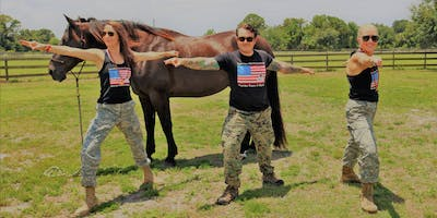 Yoga Warrior Poses 4 Warriors: Immersion with Nature and Horses