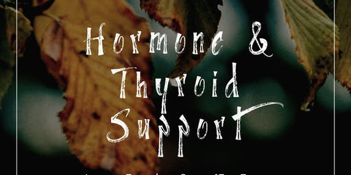 Essential Oils for Thyroid and Hormone Support