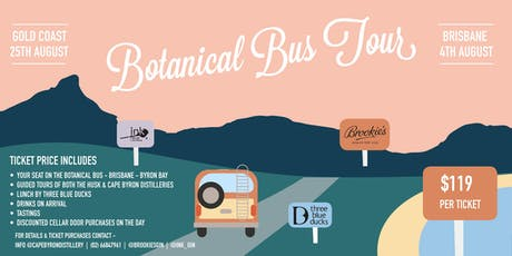Botanical Bus Tour - Brisbane to Byron tickets