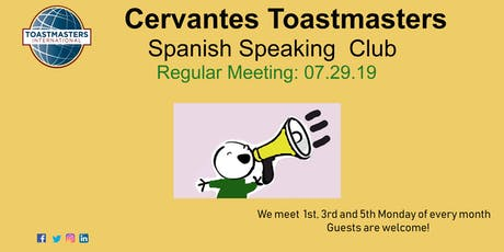 Public speaking workshop in Spanish/Taller de oratoria en Español tickets