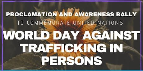 World Day against Trafficking in Persons Rally & Proclamation - Miami tickets