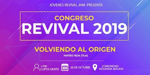 """Congreso Revival 2019 """"Volviendo al Origen"""""""