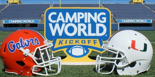 Camping World Kickoff Bus Trip - Gainesville to Orlando
