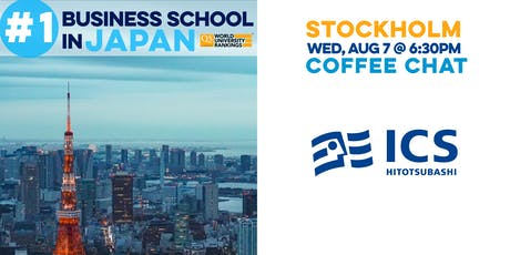 Hitotsubashi ICS | Stockholm Coffee Chat tickets