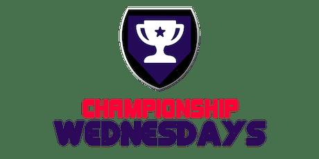 Championship Wednesdays- Free Sports League! tickets