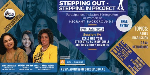 """""""Stepping Out - Stepping In"""" Project"""
