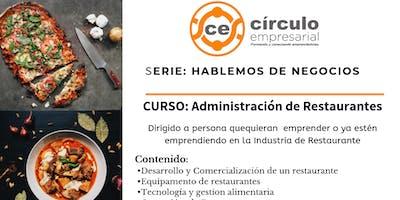 CURSO: ADMINISTRACION DE RESTAURANTES
