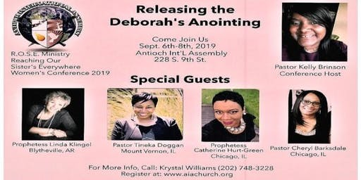 Releasing the Deborah's Anointing