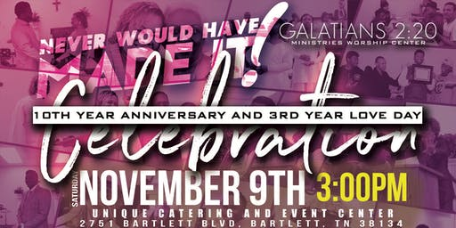 G2:20 10th Year Anniversary and 3rd Year Love Day Celebration Gala