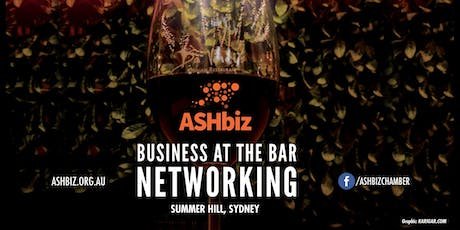 ASHbiz Business at the Bar Networking tickets