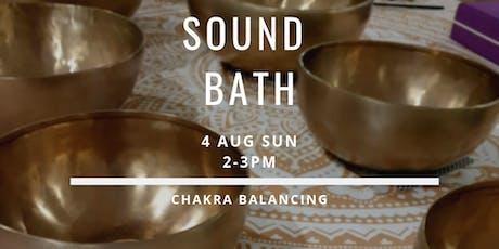 Sound Bath - 4 Aug tickets