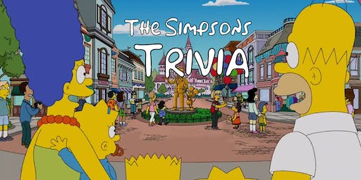 THE SIMPSONS trivia at THE CHEEKY [WEDNESDAY]