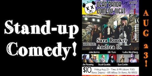 Dead Panda Comedy Night w/ Sara R. & Andrea B.