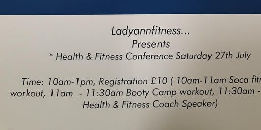 Health and Fitness Conference & Workouts